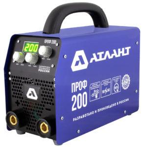 Инверторный сварочный аппарат Атлант Проф 200
